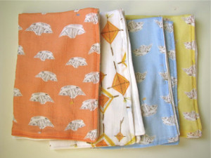 Darling Baby Burp Cloths