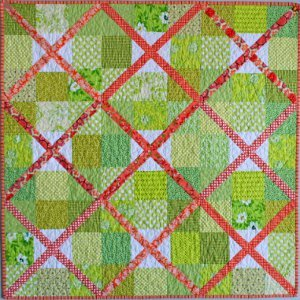 Lattice Garden Fence Quilt