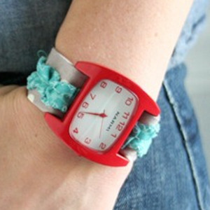 Fashionable Fabric Watch Band