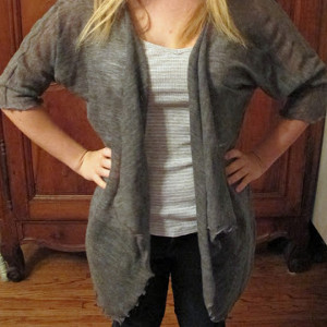 Soft Drape Front Sweater