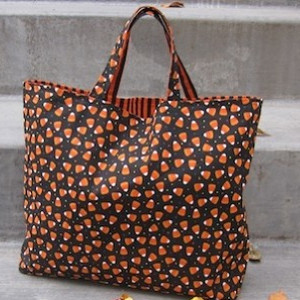 Reversible Trick or Treating Bag