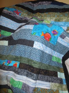 Under The Sea Quilt Favequilts Com