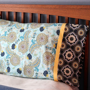 Pillowcase with French Seams in Minutes