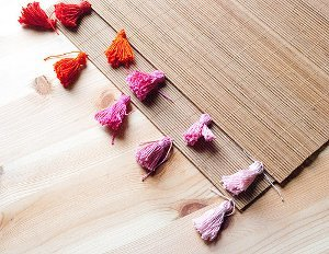 Ombre Placemat Tassels