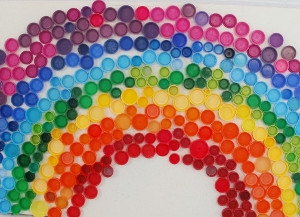 Amazing Cap Rainbow