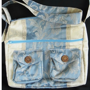 Two Pocket Messenger Bag