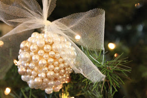 Pearl-Covered Ornament