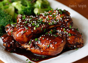 Zesty Glazed Drumsticks