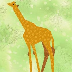 Giraffe Quilt Block Favequilts Com