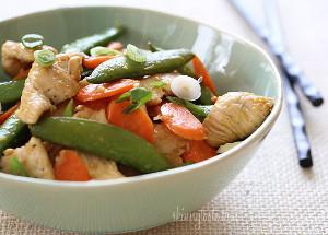 Light Veggie Chicken Stir Fry