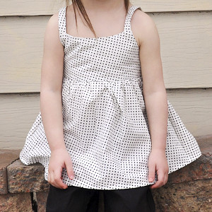Peek-a-Boo Toddler Top