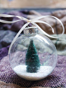 Snow Globe Ball Ornament