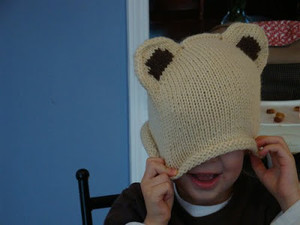 Cute Bear Hat