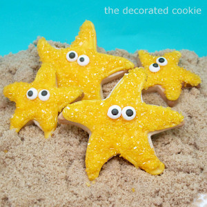 Summer Starfish Cookies