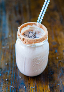 Chocolate Cake Batter Milkshake