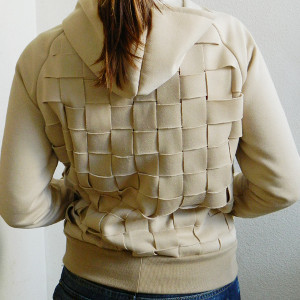 DIY Basketweave Hoodie Tutorial