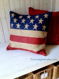 Patriotic Pillowcase