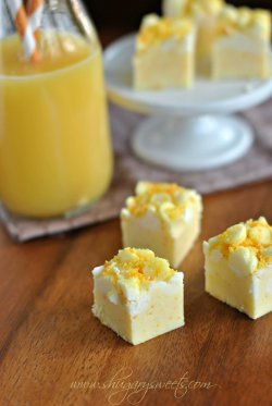 Copycat Orange Julius Fudge