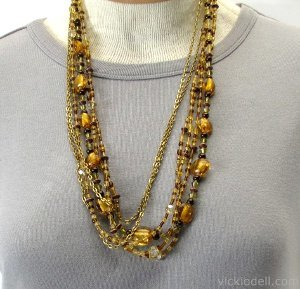 Amber Waves Necklace