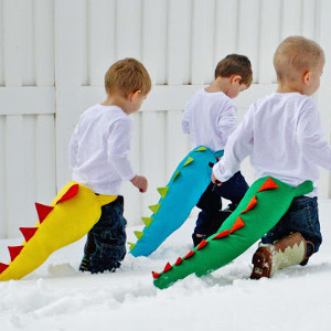 Dinosaur Tail for Dress-Up