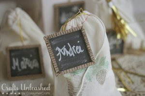 Little Chalkboard Gift Tags