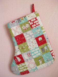 Precious Patchwork Stocking