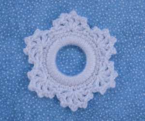 Crochet Snowflake Ornament