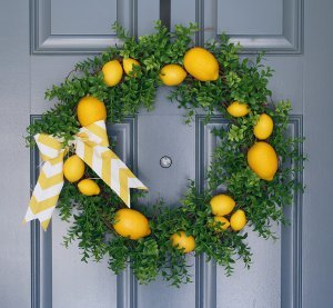 Lovely Lemon Wreath