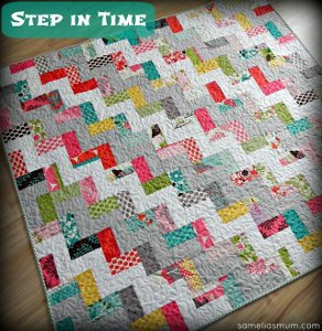 Step in Time Quilt