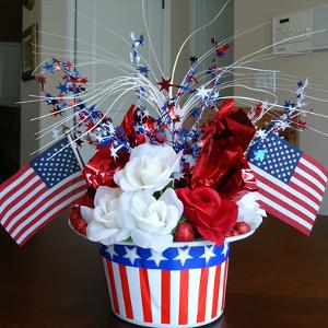 Patriotic Hat Centerpiece Favecrafts Com