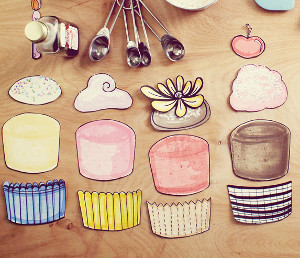 Build Your Own Cupcake Printable