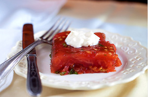 Ladies' Luncheon Tomato Aspic