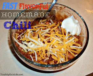 Fast and Flavorful Homemade Chili