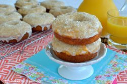 Copycat Orange Julius Donuts