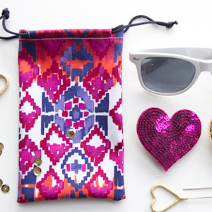 Tribal Sunglasses Pouch