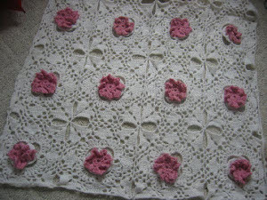 Winter Flowers Afghan