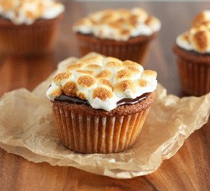 Easy S'mores Cupcakes
