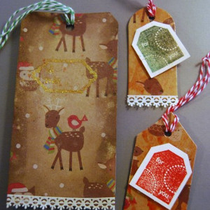 Recycled Paper Gift Tags