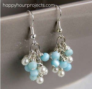 Grapevine Cluster Earrings