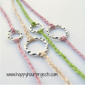 Ten Minute Braided Bracelet