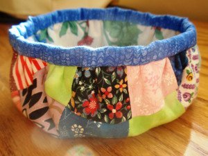 Charmed Fabric Bowl