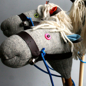 Baby's Broomstick Horse