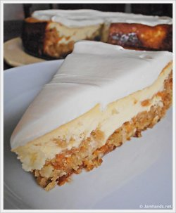 Copycat Cheesecake Factory Carrot Cake Cheesecake