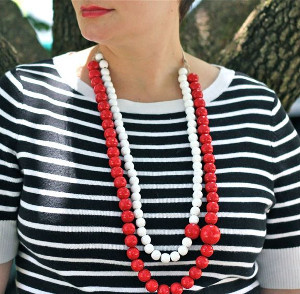 Big and Easy Beaded Necklace