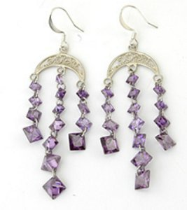 Crescent Cascade Earrings