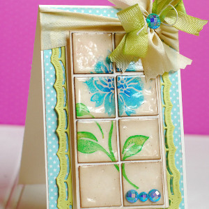 paper craft ideas for greeting cards tiled greeting card allfreepapercrafts 7854