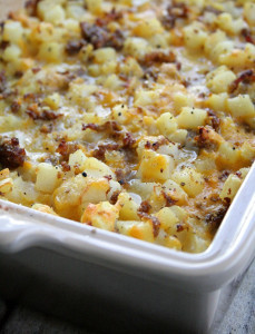 Hubby's Favorite Breakfast Bake