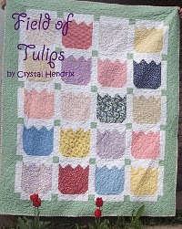Fields of Tulips Quilt