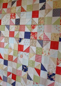 Avalon Scrappy Summer Quilt
