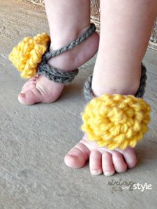 10 Minute Baby Sandals